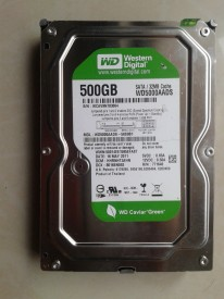 WD Caviar Green (WD5000AADS) 500GB Desktop Internal Hard Drive