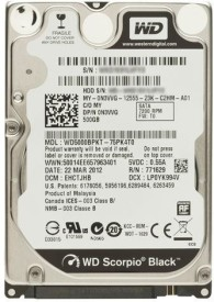WD (WD5000BPKT) 500GB Laptop Internal Hard Disk