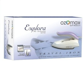 Ozomax Explora Travel Dry Iron