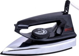 Black Handle ISI Mark Dry Iron