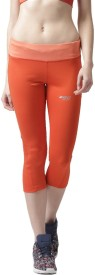2Go Power Capri Women's Orange Capri