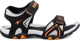 Mesha Men BLACK,ORANGE Sandals