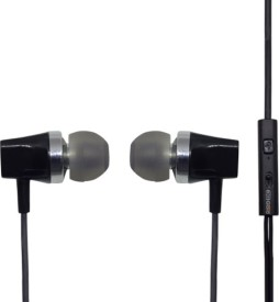 3g gold royal Stereo Earphones Wired Headset With Mic(Black)