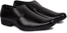 Andrew Scott Men's Black Synthetic Slip On(Black)
