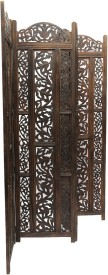 Aarsun Woods 0046 Engineered Wood Decorative Screen Partition(Free Standing, Finish Color - Matte)