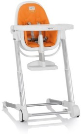 Inglesina Zuma Highchair, White/Orange(Orange)