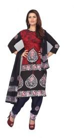 Minu Suits Printed Kurta & Churidar(Stitched)