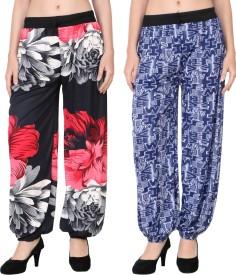 Adonia Printed Polyester Women's Harem Pants
