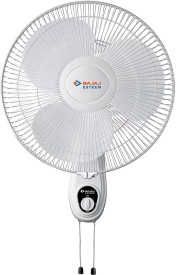 Bajaj Esteem 3 Blade (400mm) Wall Fan