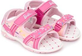 Barbie Girls Slip-on Sports Sandals(Red)