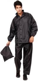 Motorev Solid Men & Women Raincoat