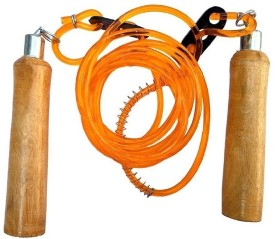 Body Grip SKIPPING ROPE PACK : 1 Gym(Orange)
