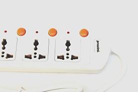 Prozini 443M 4 way Socket Universal Surge Protector (3 Mtr)