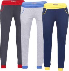 Tees Tadka Solid Women's Multicolor Track Pants