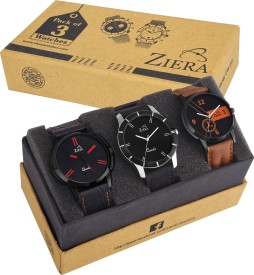 Ziera ZR7008/12/27 Gents Superior Combo Modish Analog Watch - For Men
