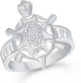 VShine Alloy Rhodium Plated Ring
