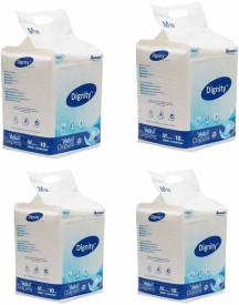 Romsons Dignity Adult Diapers Medium 4 Packs of 10 Diapers Each - M(40 Pieces)