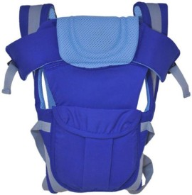 KIDOYZZ 4 IN 1 Baby Carrier Bag-Blue Baby Carrier(Blue Front Carry facing in)