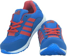 Ros Boys & Girls Lace Walking Shoes(Blue)