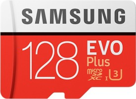 Samsung EVO Plus 128GB MicroSDXC Class 10..