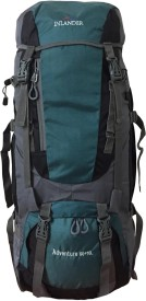 Inlander 1004 Sea Green Rucksack - 60 L(Green)