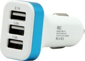 BBC BBC-18 4.1A 3-Port Turbo Car Charger