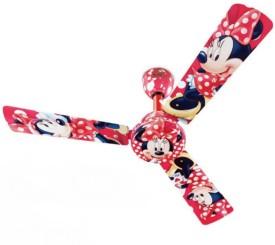 Bajaj Disney Minnie Mouse 3 Blade (1200mm) Ceiling Fan