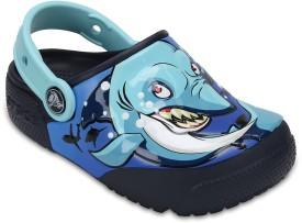 Crocs Girls Slip-on Clogs(Dark Blue)