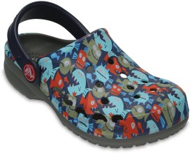 Crocs Boys Slip-on Clogs(Multicolor)