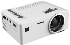 Optama 500 lm LED Corded Portable Projector(White)