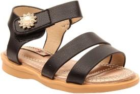 Foot Candy Girls Slip-on Flats(Black)