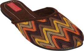 Footrendz RSNBO-3336BR Slip On(Brown)