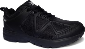 Zeven Girls Lace Running Shoes(Black)