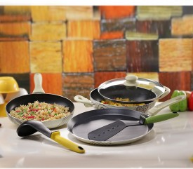 Wonderchef 63131319 Picasso Cookware Set (Pack Of 4)