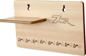7cr KH-H shelf Wooden Wall Shelf(Number of Shelves - 1, Beige)