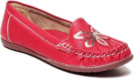 MSC Loafers(Red)