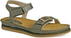 La Briza Women GUN METAL Sports Sandals
