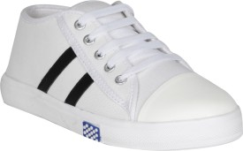 VAGON VJ475 Sneakers, Driving Shoes, Boat Shoes, Dancing Shoes, Corporate Casuals, Outdoors, Casuals, Canvas Shoes(White)