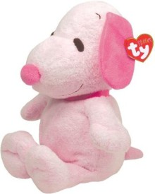 Ty Pluffies Snoopy - All - 4 inch(Pink)