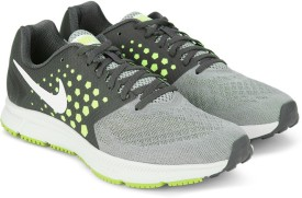 Nike WMNS NIKE ZOOM SPAN Running Shoes(White)