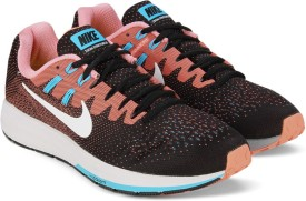 Nike WMNS AIR ZOOM STRUCTURE 20 Running Shoes(White)