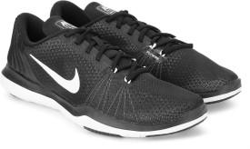 Nike WMNS NIKE FLEX SUPREME TR 5 Training & Gym Shoes(Black)