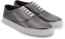 Chemistry Lace Up Shoes(Silver)