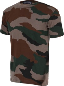 2b09de31 Indian Army T Shirts - Buy Military / Camouflage T Shirts online at best  prices - Flipkart.com