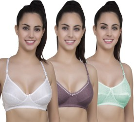 Yes Beauty Seamless Pack of 6 Women's Full Coverage Multicolor Bra
