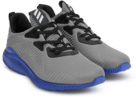 Adidas Boys & Girls Lace Running Shoes(Grey)