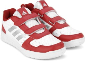 Adidas Boys & Girls Lace Running Shoes(Red)
