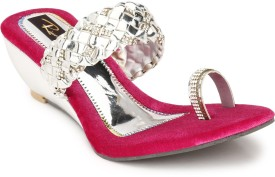 Rimezs Women Pink Wedges