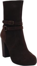 SALT N PEPPER 14-546REBECCABROWNSUEDEWOMENBOOTS Boots(Brown)