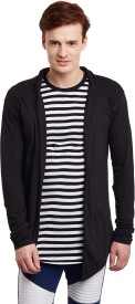 FUGAZEE Men's No Closure Cardigan